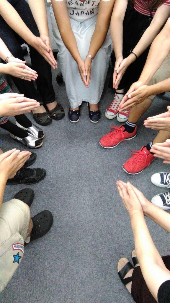 林先生のSST(ソーシャルスキルトレーニング)~タケノコニョッキゲームで一致団結~のイメージ画像