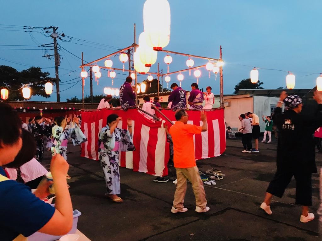 ボランティア活動🌻地域の盆踊り大会のイメージ画像