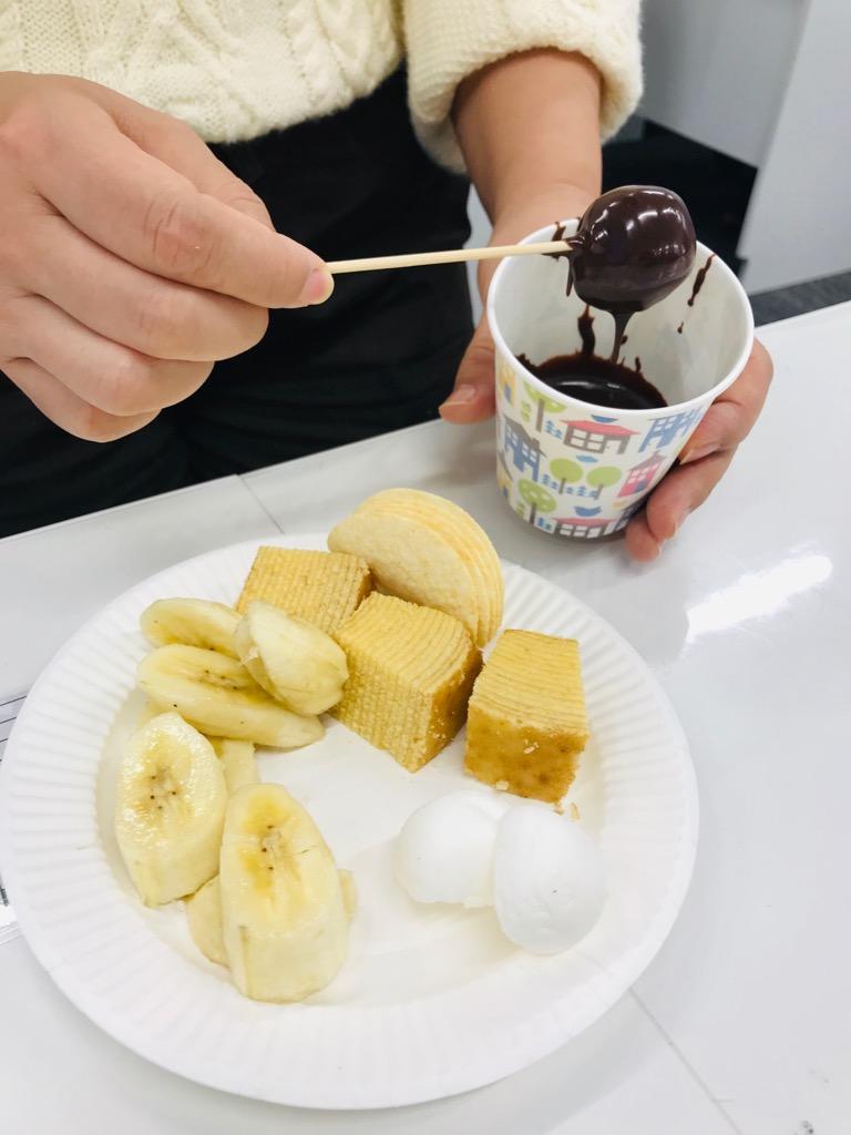 甘くてしょっぱいチョコレートフォンデュ!?のイメージ画像